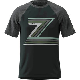 Zimtstern The-Z T-shirt Herrer, pirate black/gun metal melange